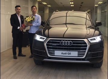 Lễ bàn giao xe Audi cho anh Sao - Kiến trúc sư