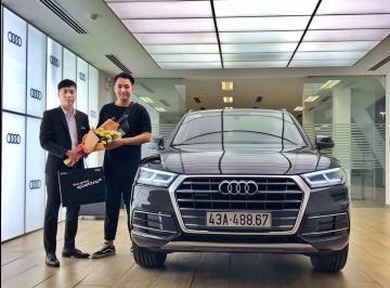 Lễ bàn giao xe Audi cho anh Trung - Chủ nhiều doanh nghiệp tại Đà Nẵng